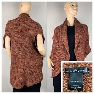United States Sweaters Duster Sleeveless Cardigan